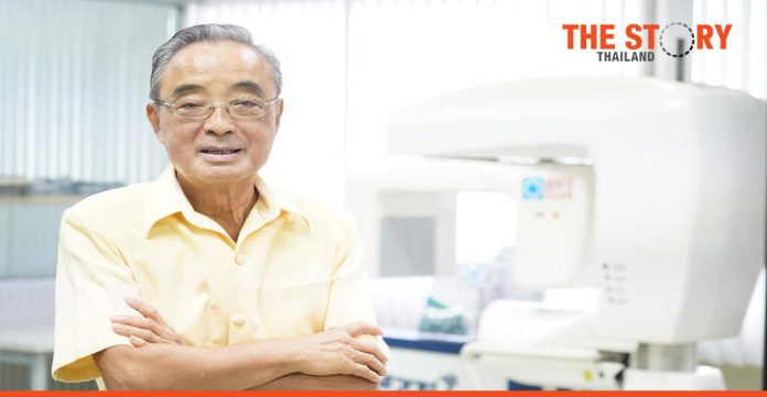 Research pioneer calls on Thai researchers to 'think first of your country'.